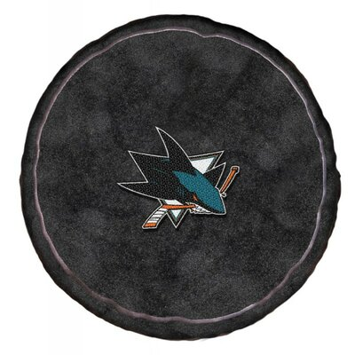 NHL 3D Sports Throw Pillow NHL Team: San Jose Sharks