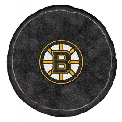 NHL 3D Sports Throw Pillow NHL Team: Boston Bruins