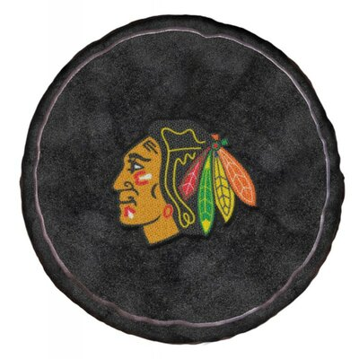 NHL 3D Sports Throw Pillow NHL Team: Chicago Blackhawks