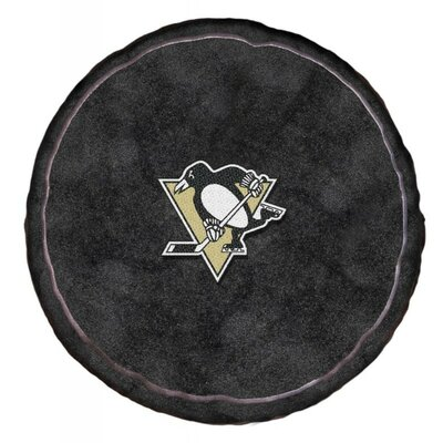 NHL 3D Sports Throw Pillow NHL Team: Pittsburgh Penguins