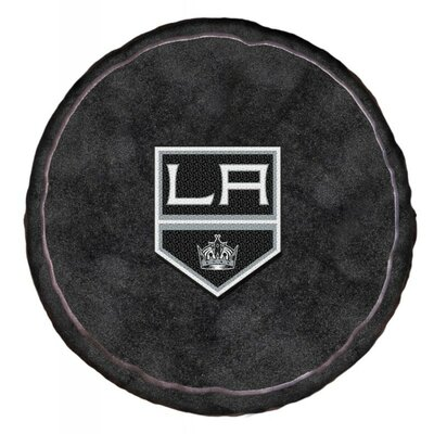 NHL 3D Sports Throw Pillow NHL Team: Los Angeles Kings