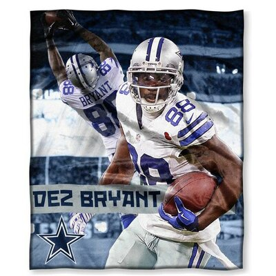 NFL Player Throw Blanket NFL Player: Dez Bryant