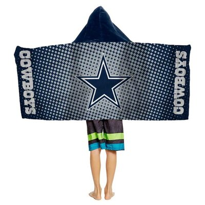 NFL Youth Hooded Beach Towel NFL Team: Dallas Cowboys