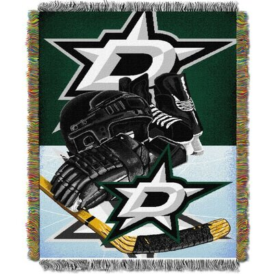 NHL Home Ice Advantage Tapestry Throw Blanket NHL Team: Dallas Stars