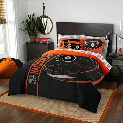 NHL Bed-In-A-Bag Set NHL Team: Philadelphia Flyers, Size: Full