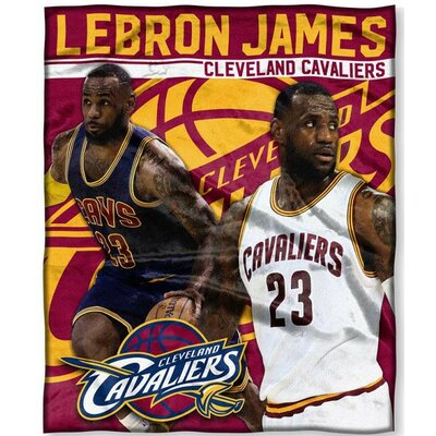 NBA Player Throw Blanket NBA Player: Lebron James