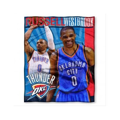 NBA Player Throw Blanket NBA Player: Russell Westbrook