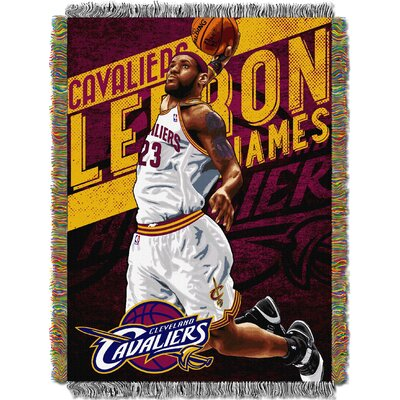 NBA Cleveland Cavaliers - Lebron James Player Woven Throw Blanket