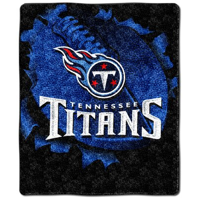 NFL Tennessee Titans Cotton Throw Pillow