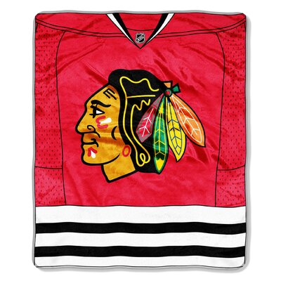 NHL Chicago Blackhawks Super Plush Throw