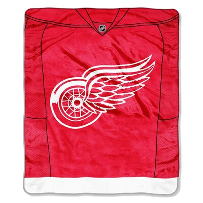 NHL Detroit Wings Super Plush Throw