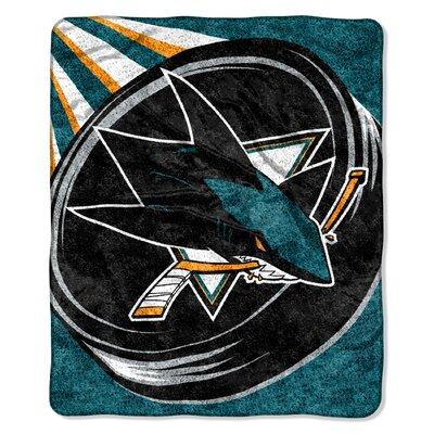 NHL Sharks Sherpa Puck Throw
