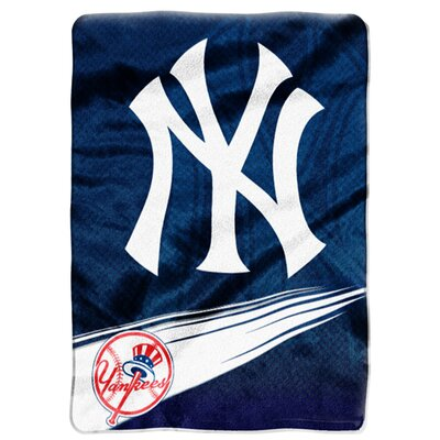 Northwest Co. MLB Super Plush Throw - MLB Team: New York Yankees at Sears.com