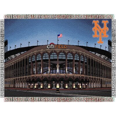 Northwest Co. MLB Stadium Tapestry Throw - MLB Team: New York Mets - Citi Field Stadium at Sears.com
