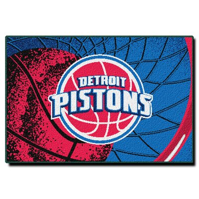 NBA Detroit Pistons Novelty Rug