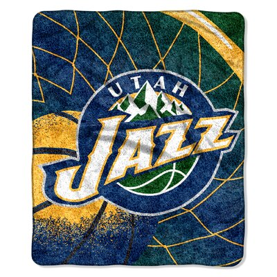 NBA Utah Jazz Sherpa Throw