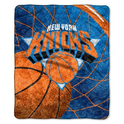 NBA New York Knicks Sherpa Throw