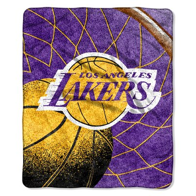 NBA Los Angeles Lakers Sherpa Throw