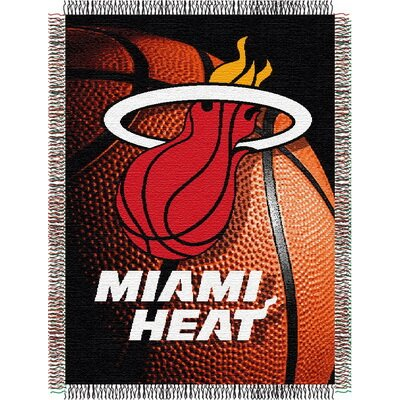 NBA Miami Heat Tapestry Throw