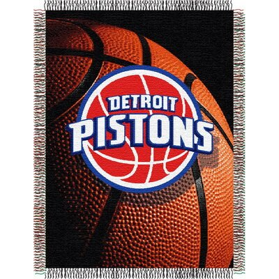 NBA Detroit Pistons Tapestry Throw