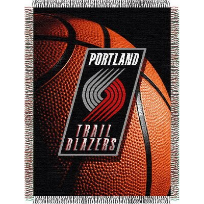 NBA Portland Trail Blazers Tapestry Throw