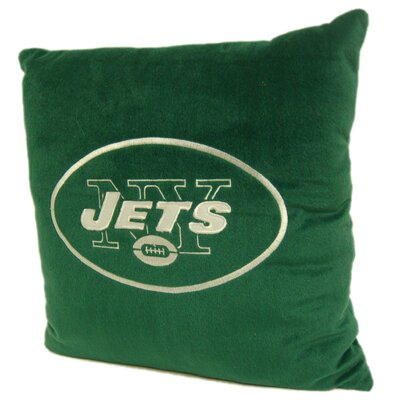 Northwest Co. NFL Throw Pillow - NFL Team: New York Jets at Sears.com