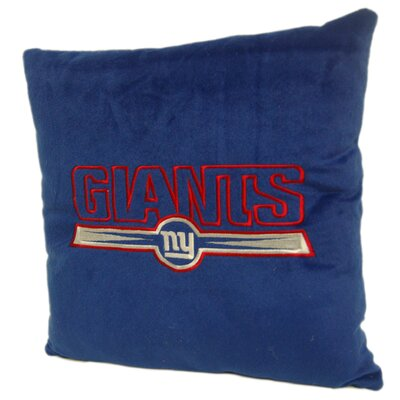 Northwest Co. NFL Throw Pillow - NFL Team: New York Giants at Sears.com
