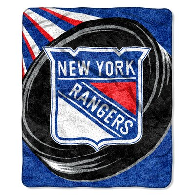 NHL Sherpa Puck Throw NHL Team: New York Rangers