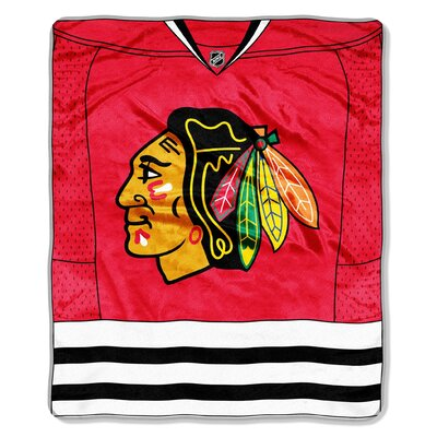 NHL Jersey Throw NHL Team: Chicago Blackhawks