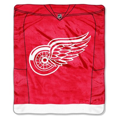 NHL Jersey Throw NHL Team: Detroit Redwings