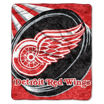 NHL Sherpa Puck Throw NHL Team: Detroit Redwings