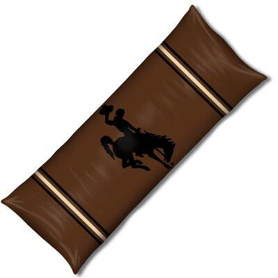 NCAA Wyoming Lumbar Pillow