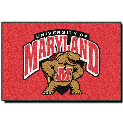 Collegiate Maryland Mat Rug Size: 18 x 26