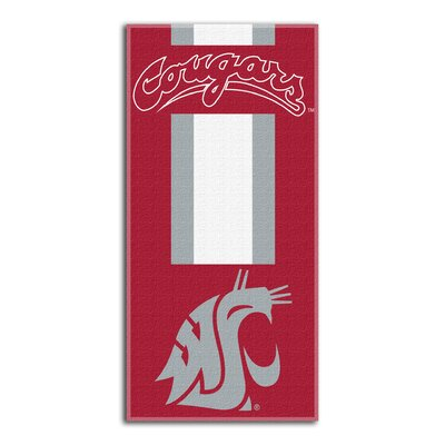 NCAA Read Beach Towel NCAA Team: Washington State University