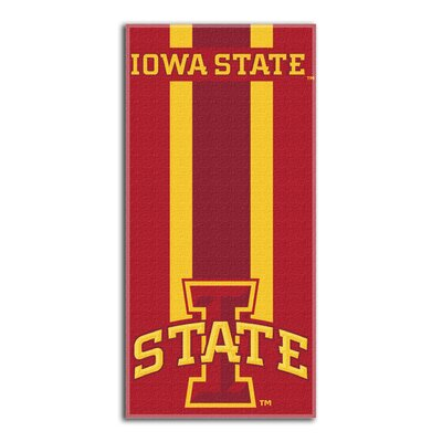 NCAA Zone Read Beach Towel NCAA Team: Iowa State University