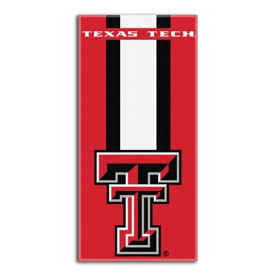 NCAA Zone Read Beach Towel NCAA Team: Texas Tech University