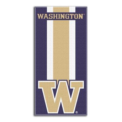 NCAA Zone Read Beach Towel NCAA Team: University of Washington