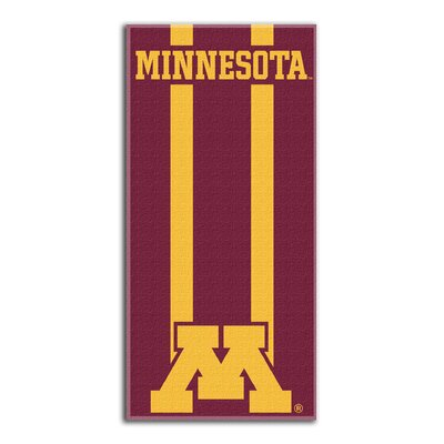 NCAA Read Beach Towel NCAA Team: University of Minnesota, Twin Cities