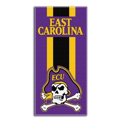 NCAA Zone Read Beach Towel NCAA Team: East Carolina University