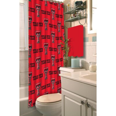 NCAA Shower Curtain NCAA Team: Texas Tech University