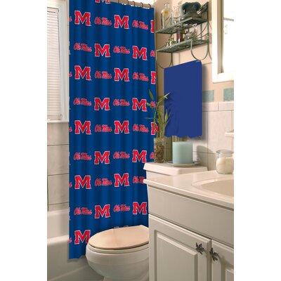 NCAA Shower Curtain NCAA Team: University of Mississippi