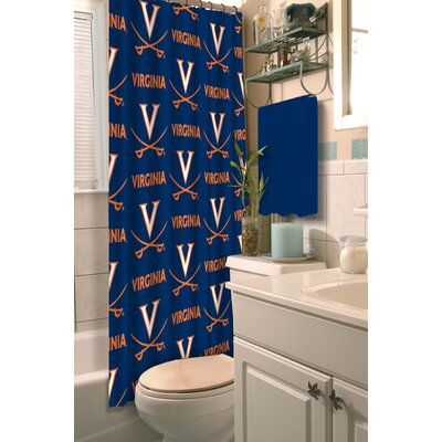 NCAA Shower Curtain NCAA Team: University of Virginia