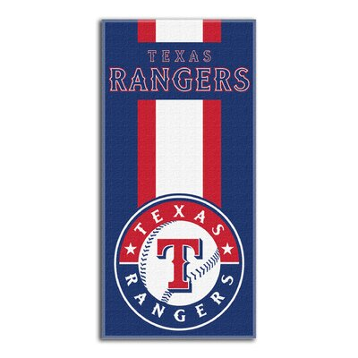 MLB Zone Beach Towel MLB Team: Rangers
