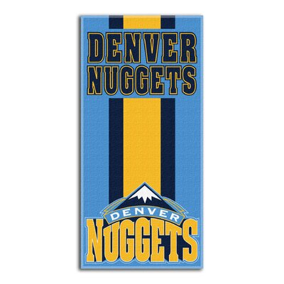 NBA Zone Read Beach Towel NBA Team: Nuggets