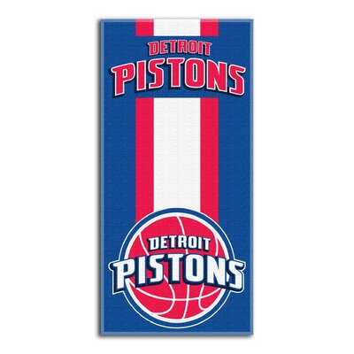 NBA Zone Read Beach Towel NBA Team: Pistons