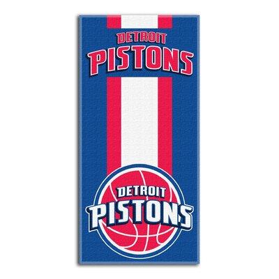 NBA Zone Read Beach Towel NBA Team: Pistons