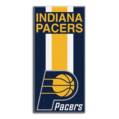 NBA Zone Read Beach Towel NBA Team: Pacers