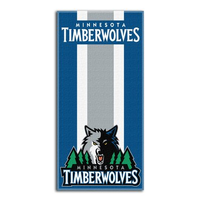 NBA Zone Read Beach Towel NBA Team: Timberwolves