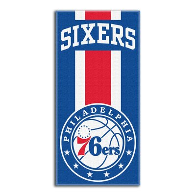 NBA Zone Read Beach Towel NBA Team: 76ers