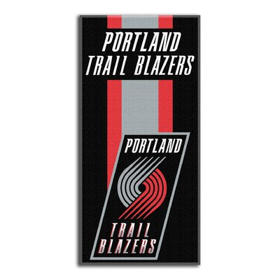 NBA Zone Read Beach Towel NBA Team: Trailblazers